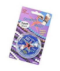 Stretch Magic Bead & Jewelry Cord clear 1 mm 5 m