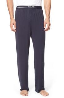 Men's Boss Stretch Modal Lounge Pants, Size Large - Blue