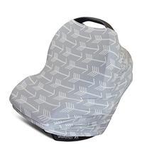 Nursing Cover, Car Seat Canopy, Shopping Cart, High Chair,