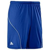 Adidas Boys 8-20 Youth Striker Short, Cobalt/White, Large