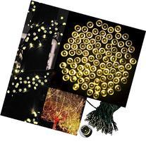 LED String Lights,Solar Christmas Lights 39ft 100 LED 8work