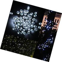 LED String Lights, Solar Christmas Lights 39ft 100 LED 8work Modes Ambiance lighting for Outdoor Patio Lawn Landscape Fairy Garden Home Wedding