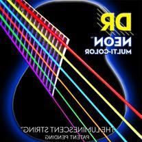 DR Strings NMCA-12 Multi-Color Strings Lite Coated Phosphor