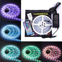 SUPERNIGHT 16.4ft 5050 300leds Waterproof IP67 RGBW LED