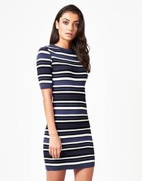 Lipsy Stripe Knitted Dress