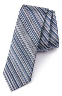 Men's Paul Smith Stripe Silk Tie, Size One Size - Blue