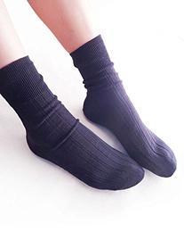 Vero Monte 6 Pairs Womens Striped Cotton Athletic Crew Socks