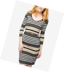 Ripe Striped Nursing Dress