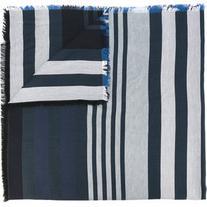 Sonia Rykiel - striped scarf - women - Silk/Cotton/Wool -