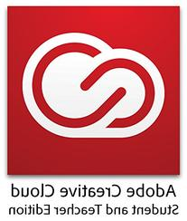 Adobe Student & Teacher Edition Creative Cloud - Validation