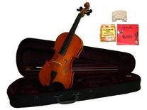GRACE 10 inch Natural Student Viola with Case, Bow+2 Sets