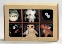 Studio Ghibli Complete Box 6 Figure Mascots with Key Ball