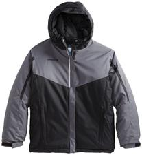 Columbia Boy's Stun Run Jacket, Graphite, Medium