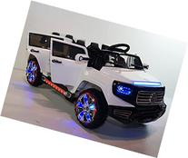 Stunning 2 seater Heavy Jeep Style 12v Battery Operated Ride