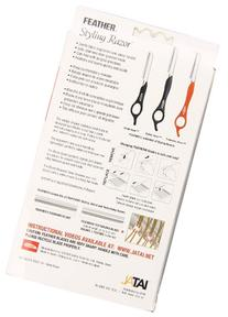 Feather Styling Razor with Standart Kit, Black
