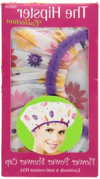 Betty Dain Hipster Collection Mold Resistant Shower Cap,