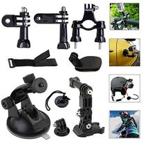 GooKit® 6in1 Suction Cup Mount System Set Kit for Gopro