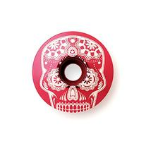 "Kustomcaps Sugar Skull  1 1/8"" Headset Cap Red"