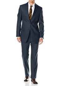 Luciano Natazzi Mens Suits 2 Button Modern Fit Side Vent