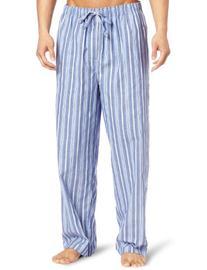 Nautica Men's Sultan Stripe Woven Pajama Pant, Cornflower,