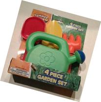 Summer Fun Child's 4 Piece Garden Set Assorted colors