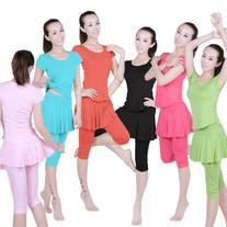 Summer New Short Skirts Pants Yoga Clothes Dance Dress Suit