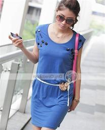 Women Summer One-piece Dress