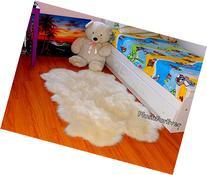 Summer Promo Sheepskin Quad Pelts Nursery Decor Flokati