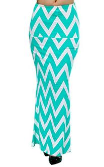 ACEVOG Women's Summer Multi Color Striped Maxi Long Beach