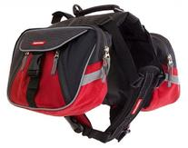 EzyDog Summit Dog Backpack, X-Large, Red/Black