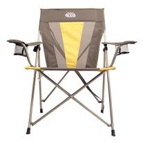 Outdoor Equip Summit Pro Folding Lawn Chair Yellow/Gray