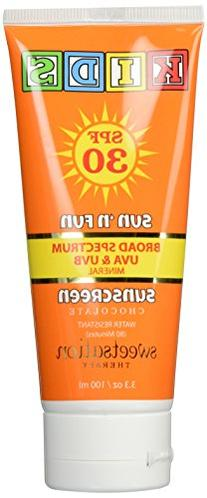 Sun'n'Fun Broad Spectrum Natural Mineral Sunscreen for Kids