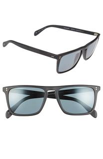 Men's Oliver Peoples 'Bernardo' 54Mm Sunglasses - Black