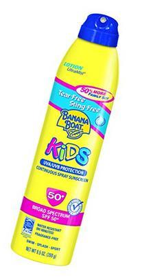 Banana Boat Sunscreen Ultra Mist Kids Tear-Free Sting-Free