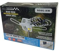 BoostWaves WA2608 Outdoor Amplified HDTV Motorized Rotation