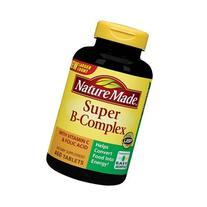 Nature Made Super B-Complex with Vitamin C and Folic Acid -