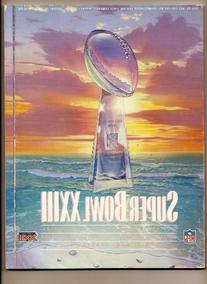 Super Bowl 23 XXIII Official Game Program 49ers Bengals