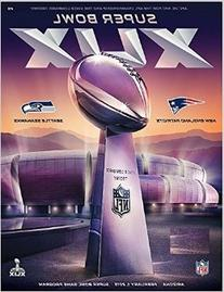 "NFL Super Bowl 49 XLIX Program ""Stadium"" Holographic Cover"
