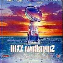 Super Bowl XXIII Unsigned Program - January 23 1989