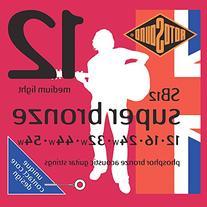 Rotosound Super Bronze Acoustic Guitar Strings SB12