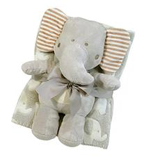 Stephan Baby Super-soft Coral Fleece Crib Blanket and Plush