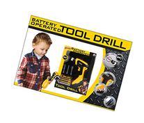 Ginzick Super Fun Kids Battery Operated Toy Drill