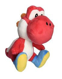 "Little Buddy Super Mario Bros. 6"" Red Yoshi Stuffed Plush"
