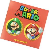 Super Mario Brothers 2015 Wall Calendar