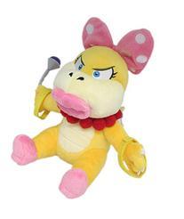 "Little Buddy Super Mario Series Wendy Koopa 7"" Plush"
