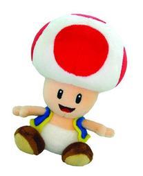 Nintendo Official Super Mario Toad Plush, 8