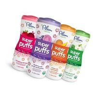 Plum Organics Super Puffs Variety Pack, 1.5 Ounce