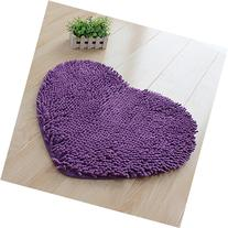 Hughapy® Super Soft Lovely Heart Love Shaped area rug,Anti-