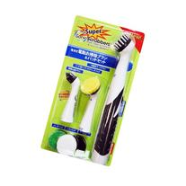 Super Sonic Scrubber with Household All Purpose 5 Brush