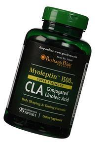 2 Pack of Super Strength Myo-Leptin CLA 1500 mg Leptin CLA